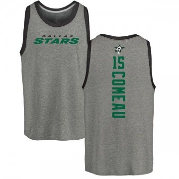 Men's Blake Comeau Dallas Stars Backer Tri-Blend Tank Top - Ash